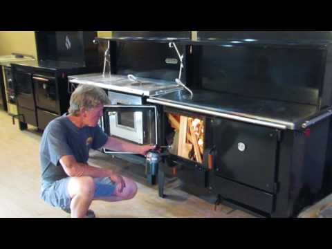 Obadiah's 2000 Wood Cookstove - Firing The Stove
