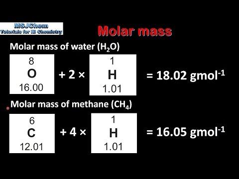 1.2 Molar mass