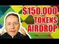 $150.000 dólares para esse Airdrop