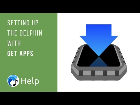 Setting Up the Delphin with Get Apps