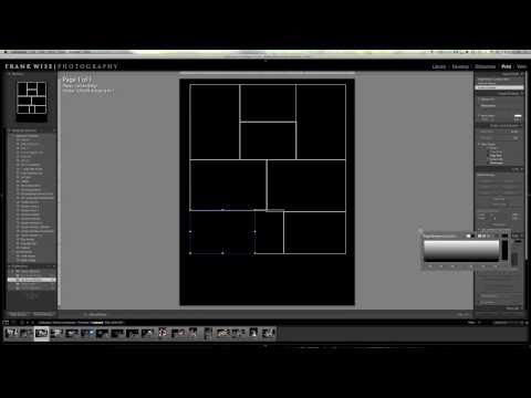 Lightroom Tutorial Print Module Collage