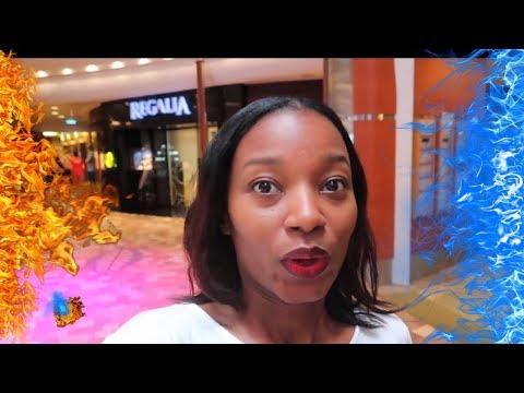 Royal Caribbean Allure of the Seas   Honeymoon Vlog Day 1   Jamilah and Marcel