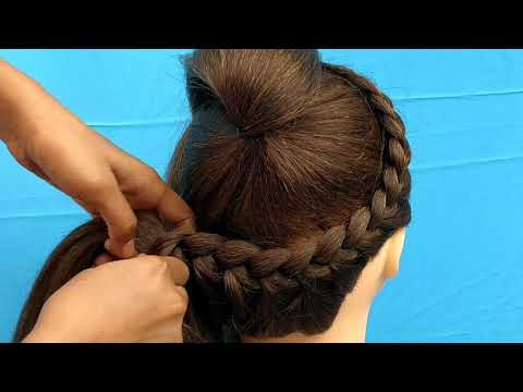 AWESOME HAIRSTYLE FOR GIRL || BEAUTIFUL HAIRSTYLE FOR PARTY AND OUTGOING FOR MEDIUM AND LONG HAIR