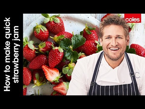 How to make quick strawberry jam with Curtis Stone