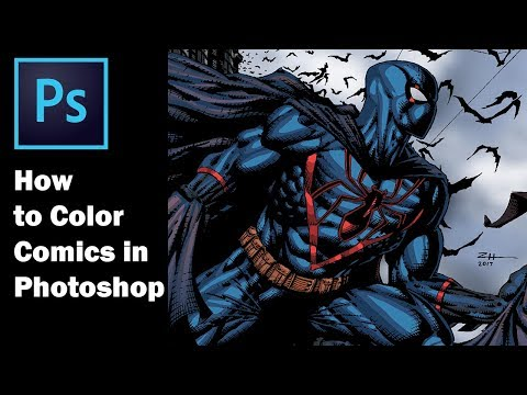 How to Color Comics in Photoshop (Ft. Felle Jones) Collab