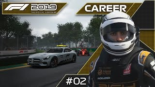 29 49 MB] Download A FantHAAStic DEBUT RACE! F1 2019 Haas