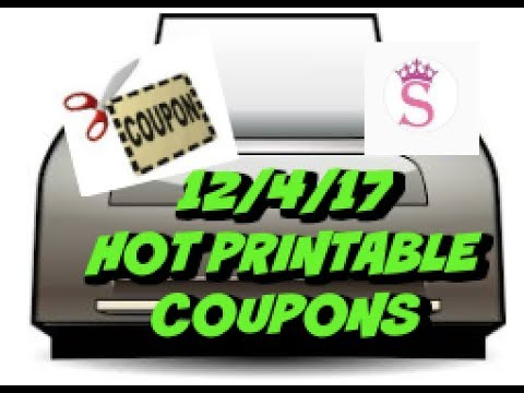 MUST PRINT | 12/4/17 NEW PRINTABLE COUPONS | DIGIORNO, BIC & MORE!