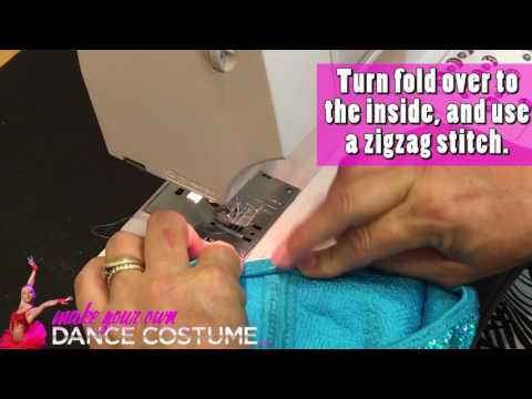 MYODC Sewing Tutorial Short: Say goodbye to uncomfortable sequin dance costumes!