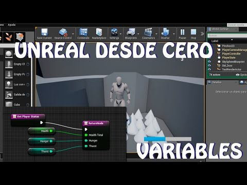 Unreal desde cero: Variables (español)