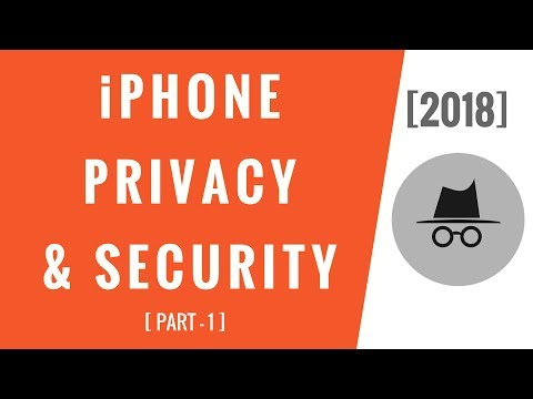 iPhone Settings! Privacy & Security (Part-1)