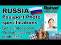 Get your Russian Passport Photo & Russian Visa Photos snapped at Reload Internet in London