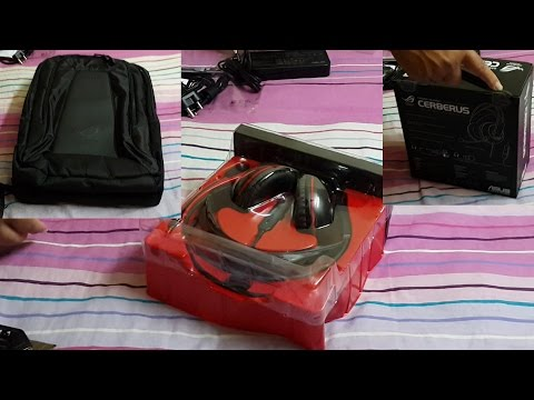 Asus Cerberus Gaming Headset & Laptop Bag Unboxing | #RCTech | India