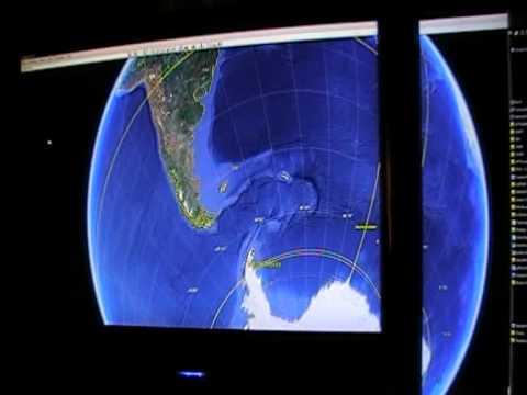 Google Earth  with longitude langitude bearings