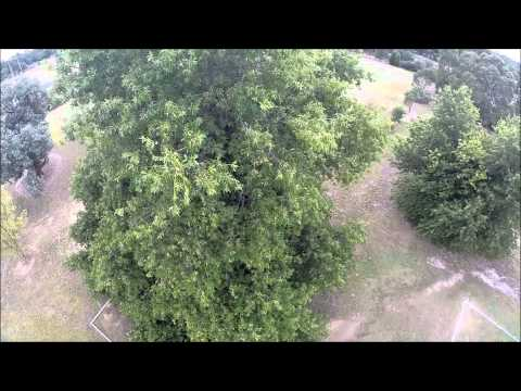 soccer oval and speedway dji phantom 2 not much wind perfect for flying