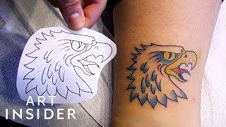 Gumball Machine Chooses Your Next Tattoo