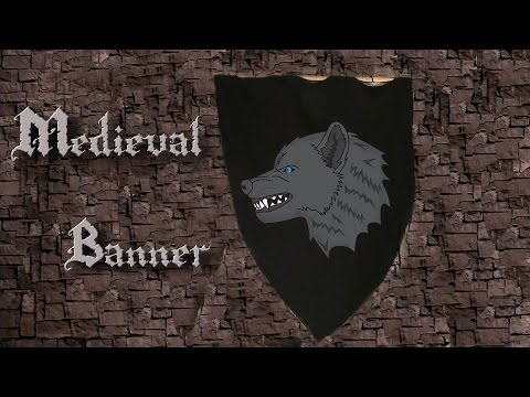 How to Make a Medieval Banner
