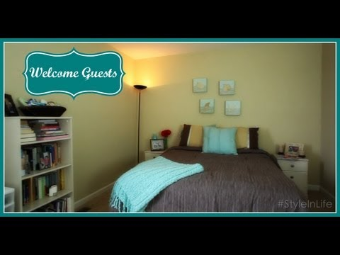 How to Make Guests Feel Welcome in Your Home - Keeping Style in Your Life