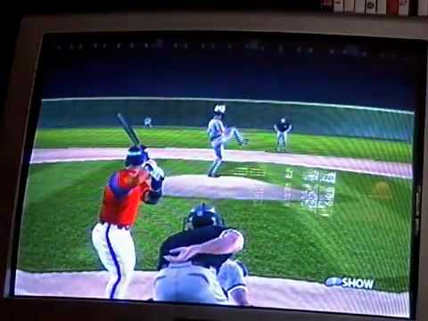 gamecube mvp baseball 2005 highlights from 2 games