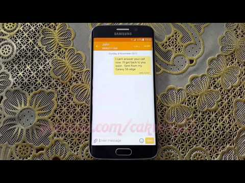 How to delete text messages on Samsung Galaxy S6 or S6 Edge