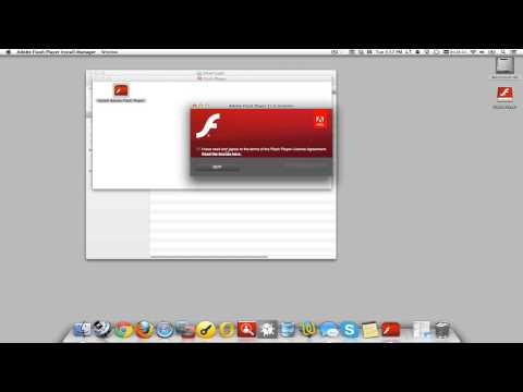 Flash Player install on OS X