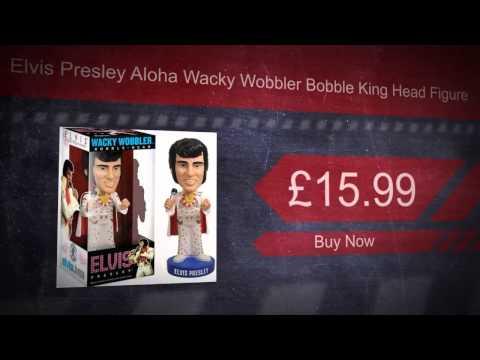Elvis Presley Aloha Wacky Wobbler Bobble King Head Figure
