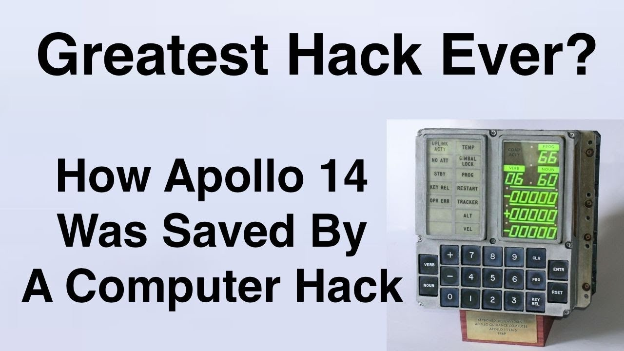 The Computer Hack That Saved Apollo 14