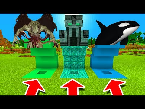 Minecraft PE : DO NOT CHOOSE THE WRONG CROSS! (Wizard, Scarecrow
