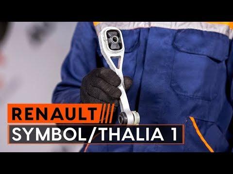 How to replace engine mount onRENAULT SYMBOL/THALIA 1[TUTORIAL AUTODOC]