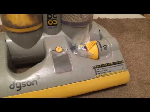 How to change the clutch belts on a Dyson DC03