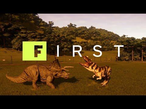 Jurassic World Evolution: 20 Minutes of Isla Muerta Gameplay - IGN First