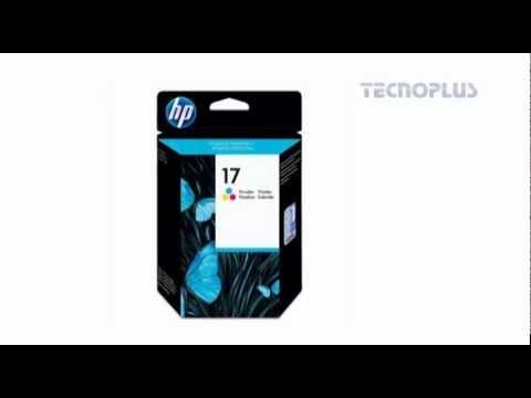 CARTUCHO DE TINTA ORIGINAL HP 17 TRICOLOR 15.5ML ECONÔMICO C6625A - 14539