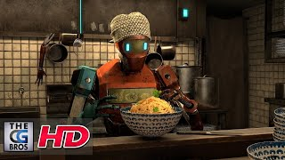 "CGI 3D Animated Illustration: ""NoodleBot"" - by Steven Umanee"