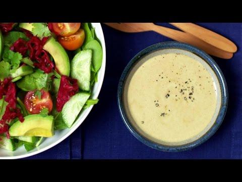 Three Healthy Salad Dressings (VEGAN + EASY)