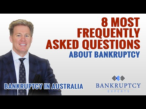Bankruptcy Experts 8 Questions Video