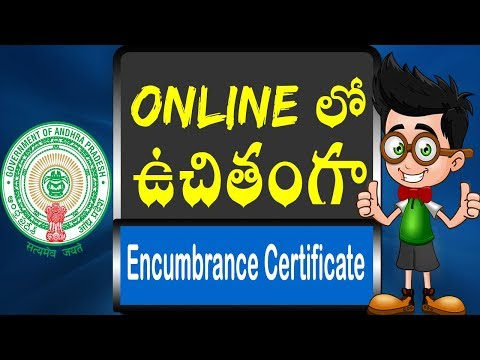 How to download free EC and CC through online from AP Registration and Stamps Dept website || Telugu
