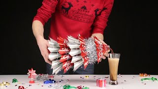 Xmas TREE from Coca-Cola and 17 christmas life hacks from Mr. Hacker