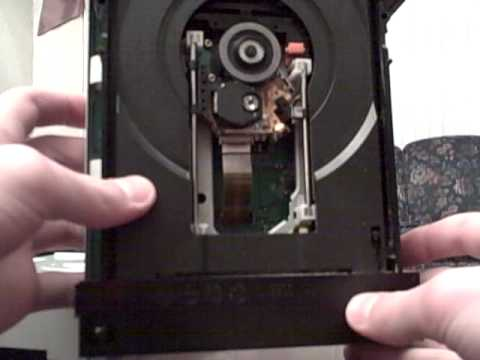 How to take apart a phillips / xbox dvd / disk drive.  A little bit of tips on cleaning