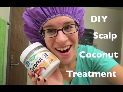DIY Hair Care: Coconut Oil Moisturizing Dry Scalp Treatment