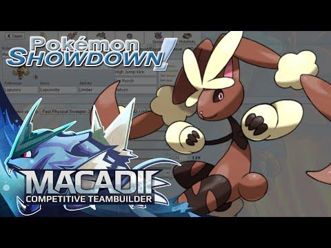 Mega Lopunny Pokemon Showdown OU Team Building w. macadii (Smogon ORAS OU Team)