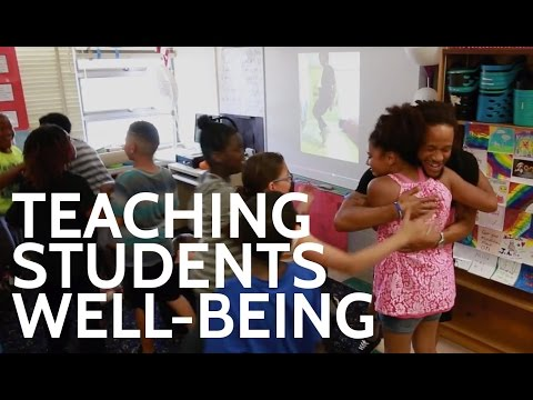 Center experts help students learn through well-being exercises