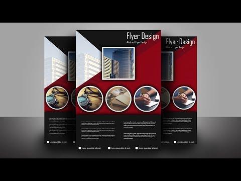 Abstract Flyer Design Tutorial - Illustrator