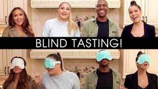 Adrienne vs Her Squad *Blindfold Taste Test*