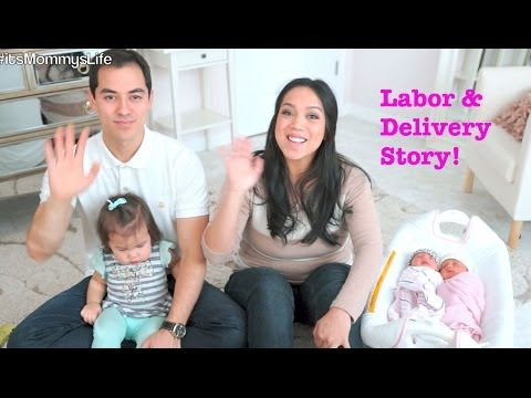 Labor & Delivery story of Twin Girls! - itsMommysLife