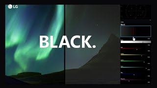 "LG OLED TV ""Best picture quality : BLACK"" TVCF (30"