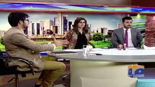 Shaheer Khan did something which has never been done in the history of LIVE PAKISTANI TELEVISION.