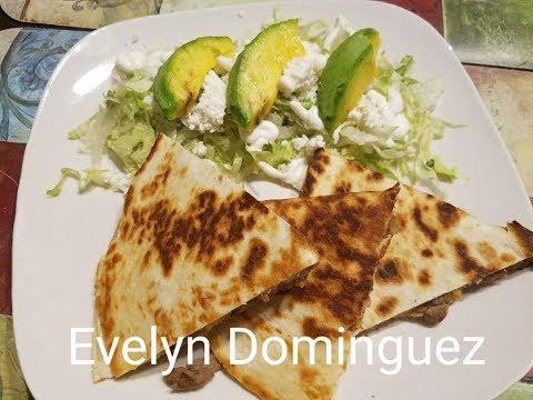 Beef Quesadillas English Version