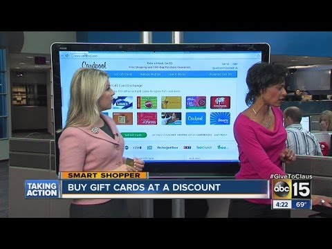 Buy gift cards at a discount