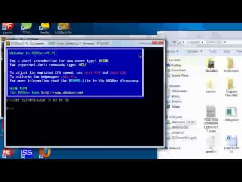 Running debug.exe on a 64-bit windows (64x system) using DosBox