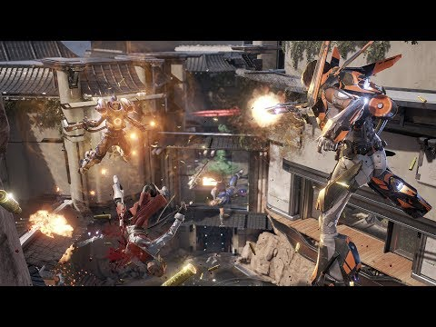LawBreakers Beta PC Gameplay Maxed Out 60FPS Nvidia GTX 1070