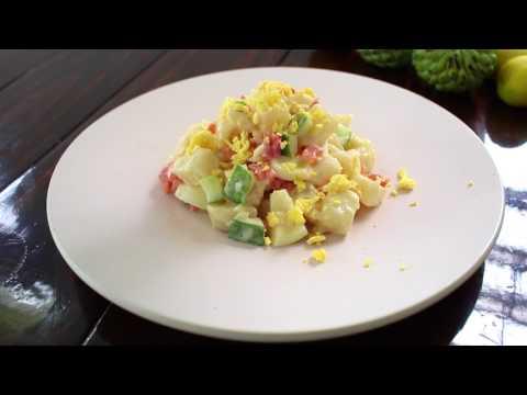 How to Make Korean Potato Salad - Potato Salad Recipe